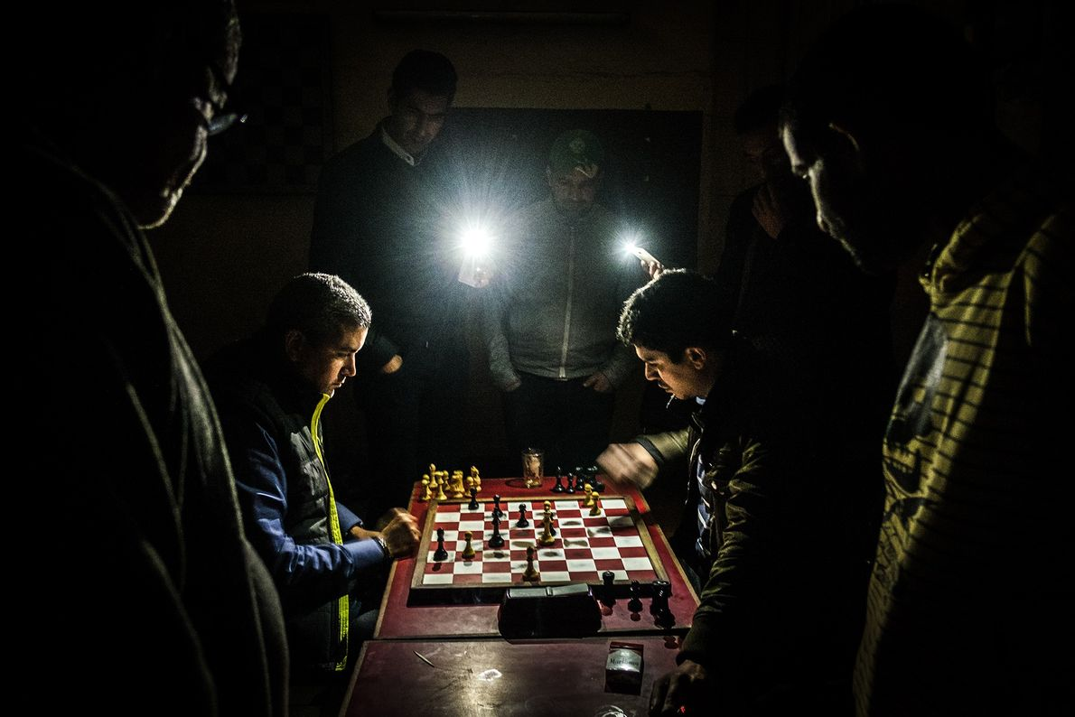 Chess plays a big part in the life of photographer Yoriyas, who played from five years ...