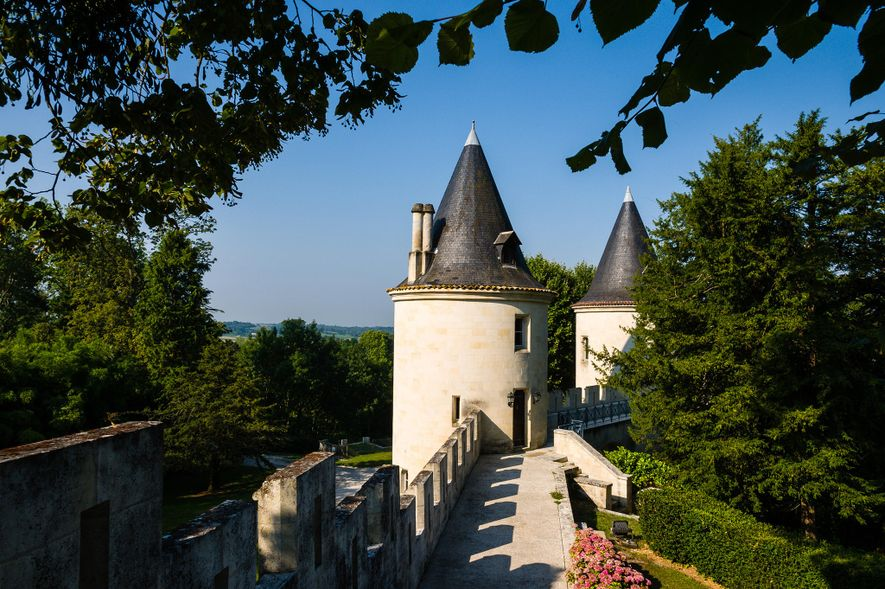 Start with an 11th-century medieval fortress nestled between the French regions of Bordeaux and Cognac. Add ...