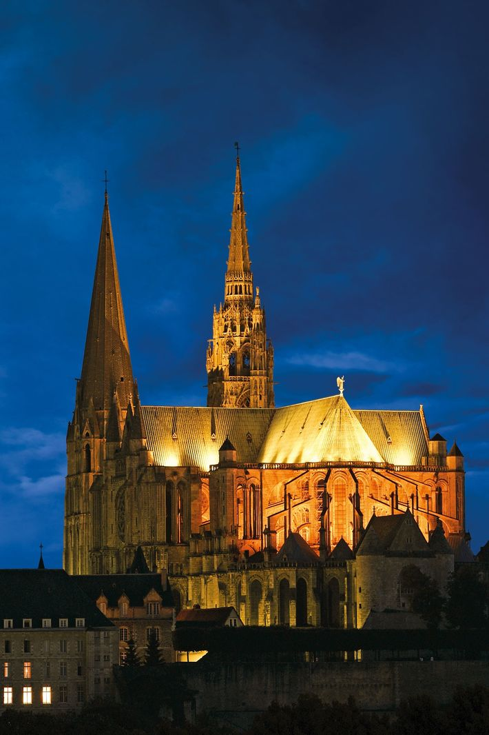Construction of the Cathedral of Chartres, southwest of Paris, began in the 12th century. Many Europeans ...