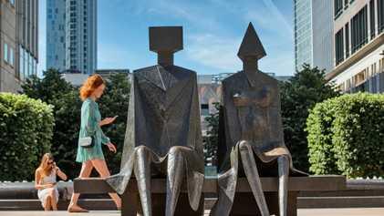 A walking tour of east London's best public art