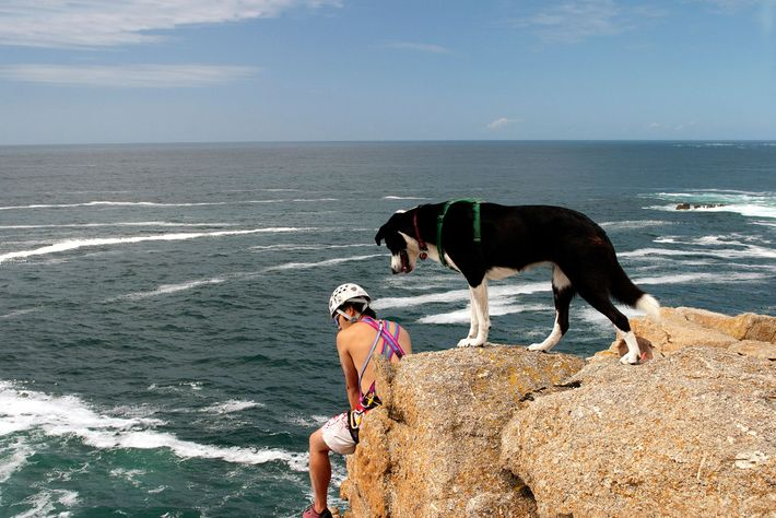 Bosigran, Chair Ladder and Sennen are some of the more popular crags in Land's End, Cornwall.