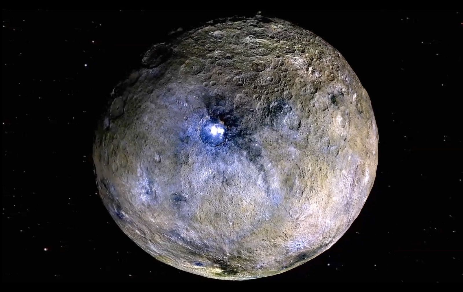 Dwarf planet between Mars and Jupiter is geologically alive