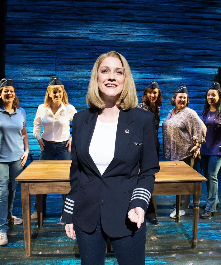 The London cast of Come From Away