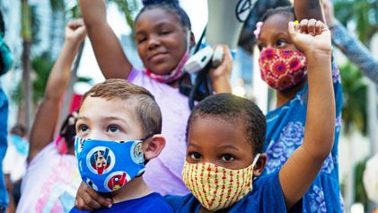 Inspiring kids to change the world