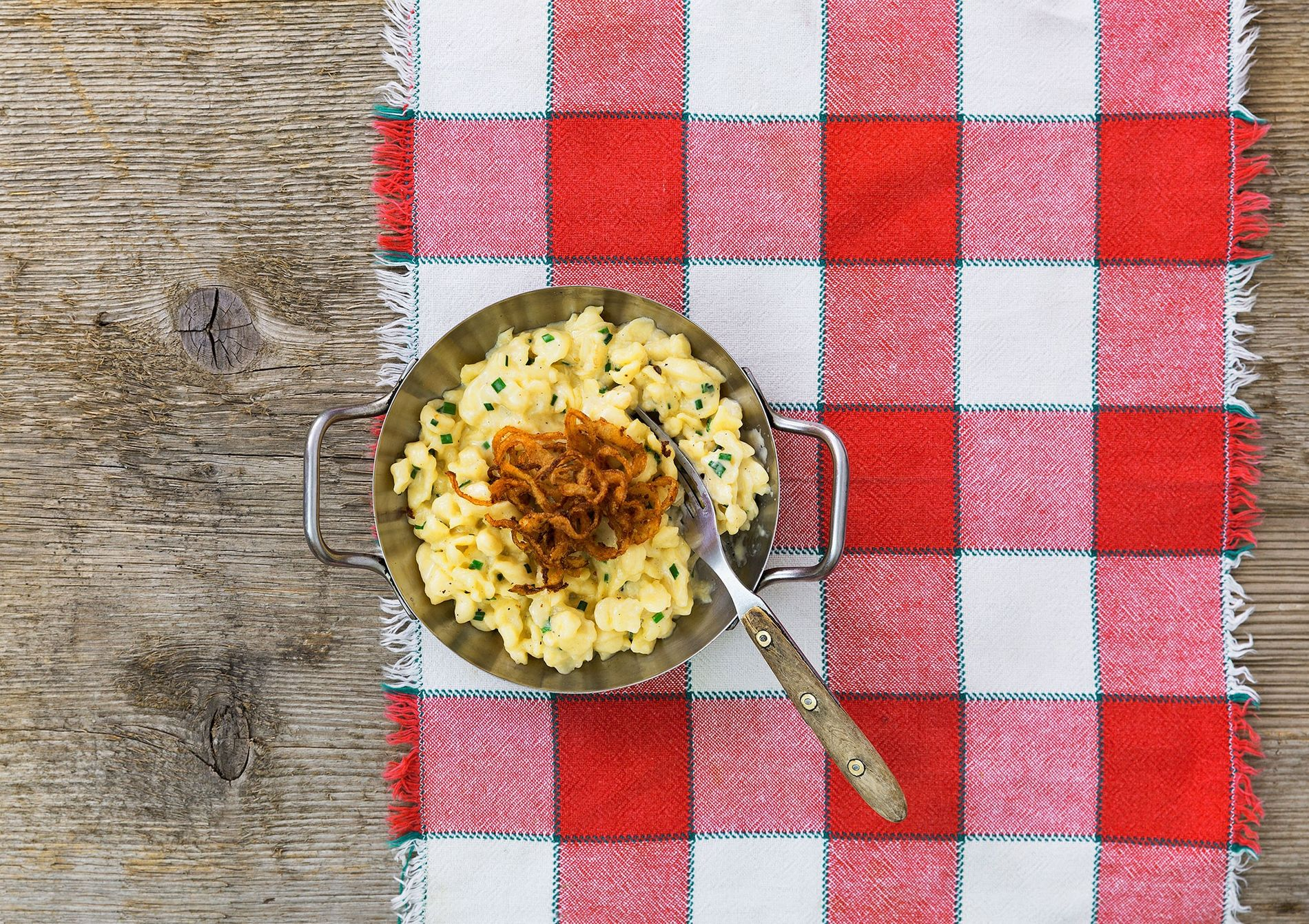 "Bavaria's kaessspaetzle can be described as ""what macaroni and cheese is trying to be."""
