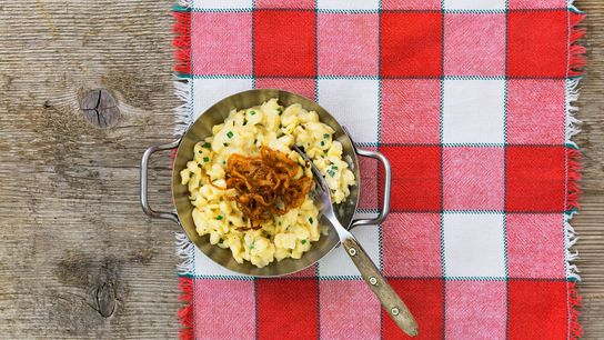 """Bavaria's kaessspaetzle can be described as """"what macaroni and cheese is trying to be."""""""
