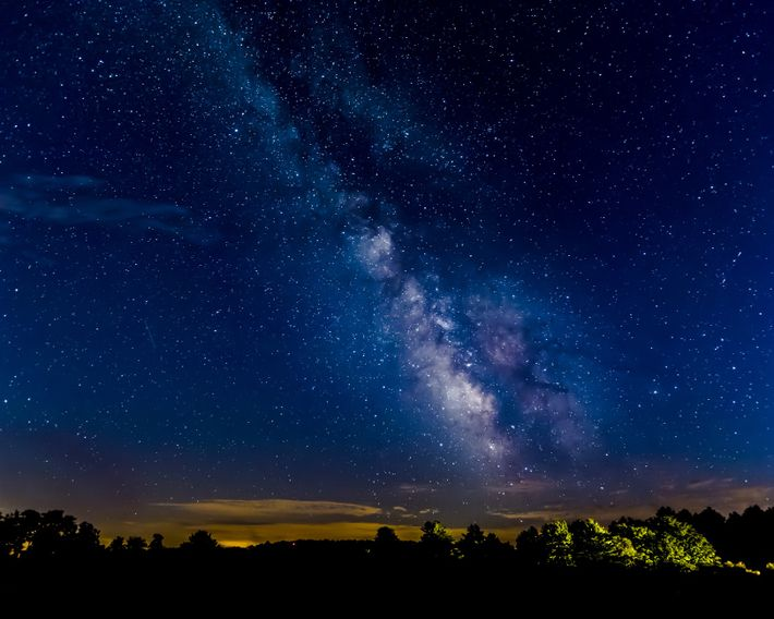 Family-friendly star parties are held in Cherry Springs State Park, Pennsylvania.