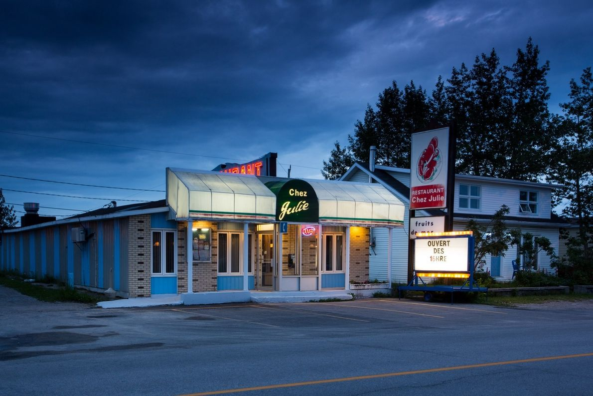 Chez Julie is a Havre Saint-Pierre hotspot offering warm Quebecois hospitality and fresh-caught local seafood specialities.