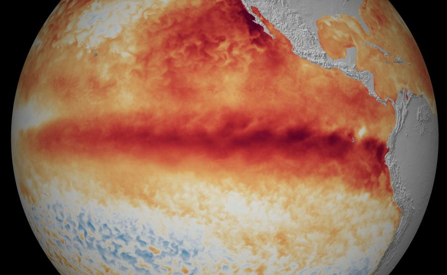 El Niño Southern Oscillation (ENSO) is a climate pattern that warms and cools the tropical Pacific ...