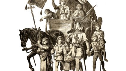The Children's Crusade set out for the Holy Land in 1212. It never arrived.
