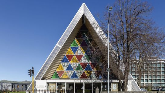 The Cardboard Cathedral.