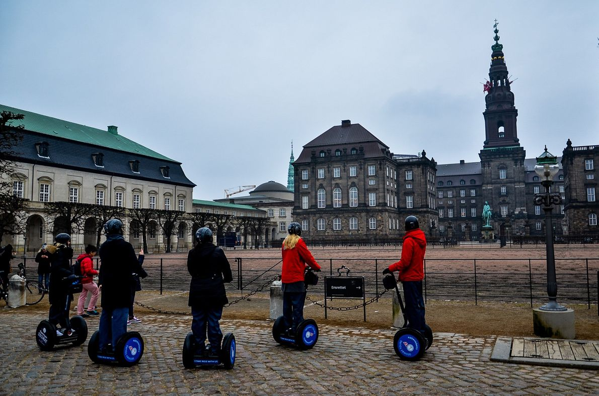 After you capture Amagertorv and its fountain, you can visit Christiansborg Palace, the seat of the …
