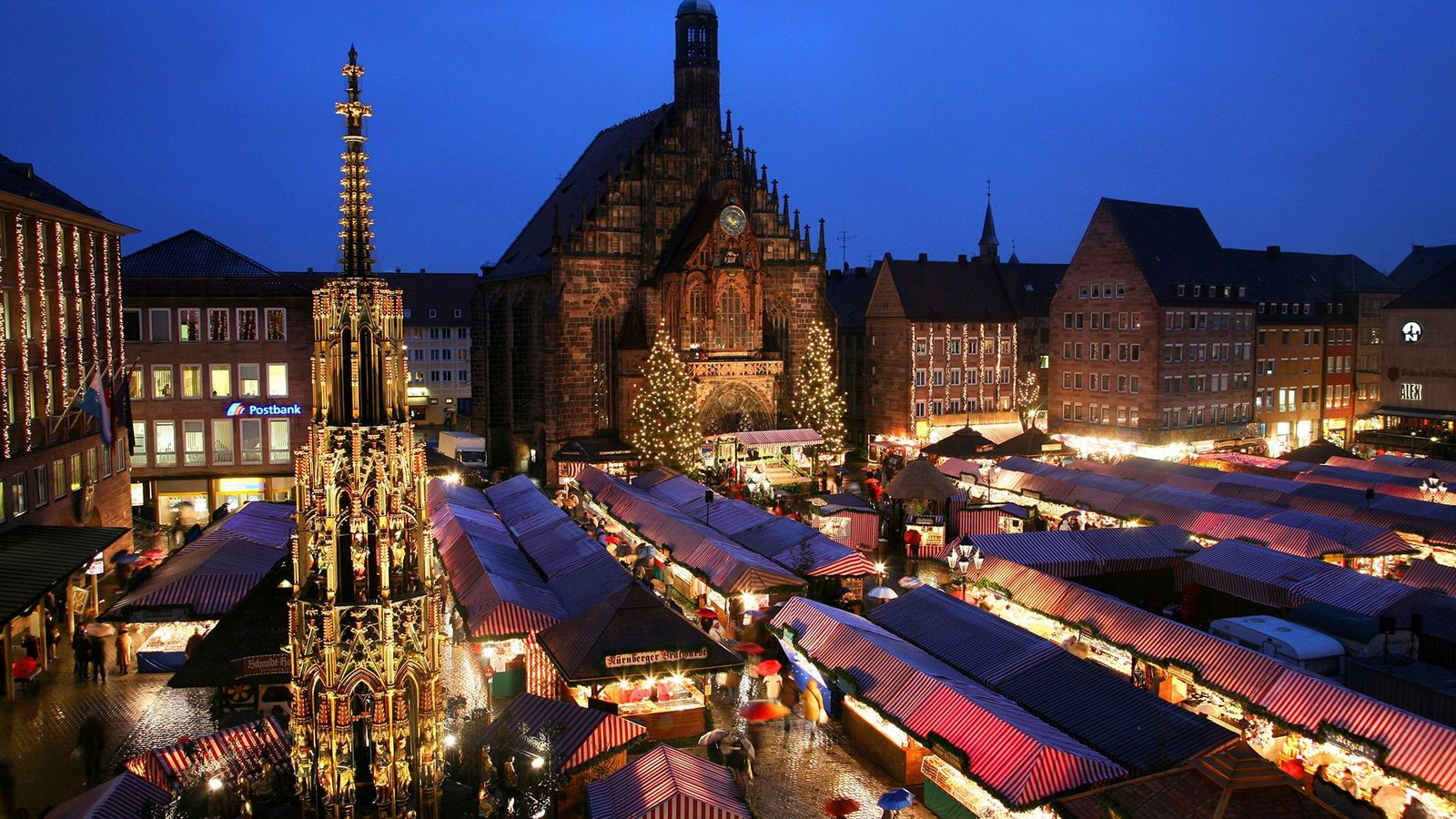 The Nuremburg Christmas Market dates back 400 years.