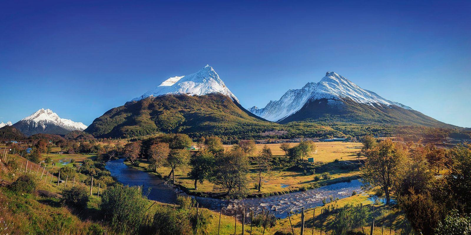 Tierra del Fuego National Park, Argentina.