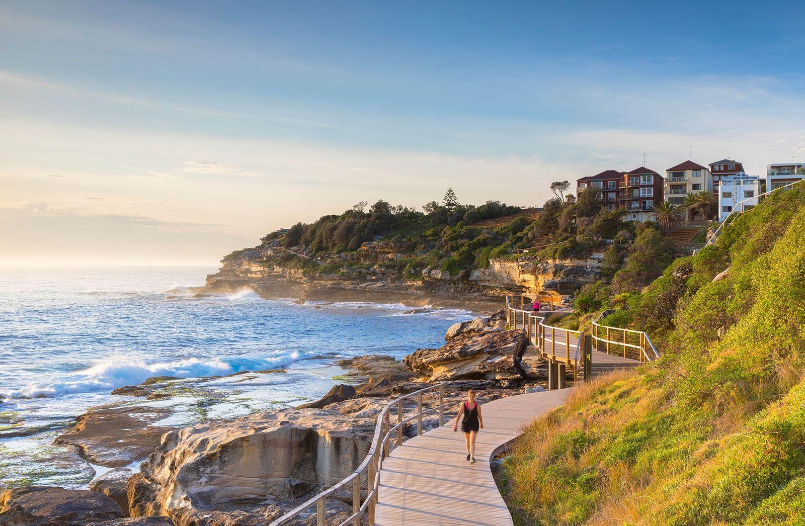 Bondi to Bronte Coastal Walk, Sydney.
