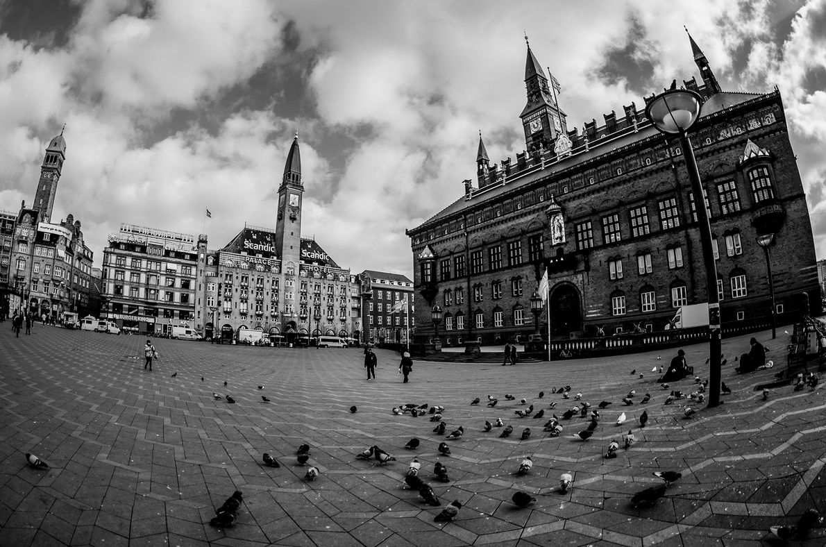 So you are in Copenhagen. Where do you start? With the city center, where you will …