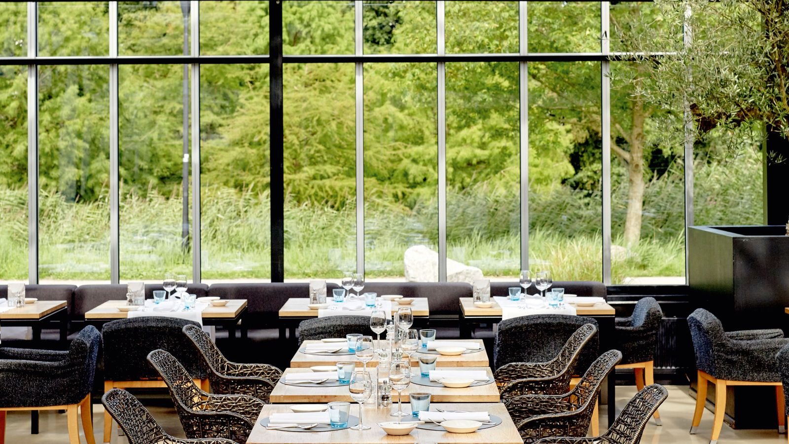 De Kas is a greenhouse-style restaurant that's best visited at lunchtime or on a summer evening, ...