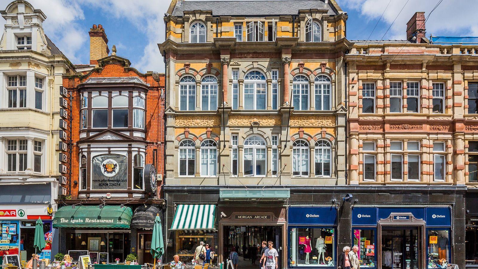 St Mary Street, Cardiff.