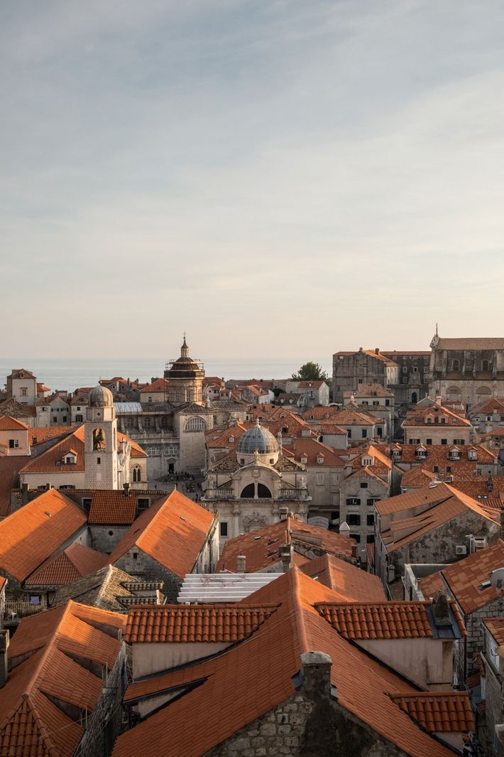 View of the Old Town from the city walls.