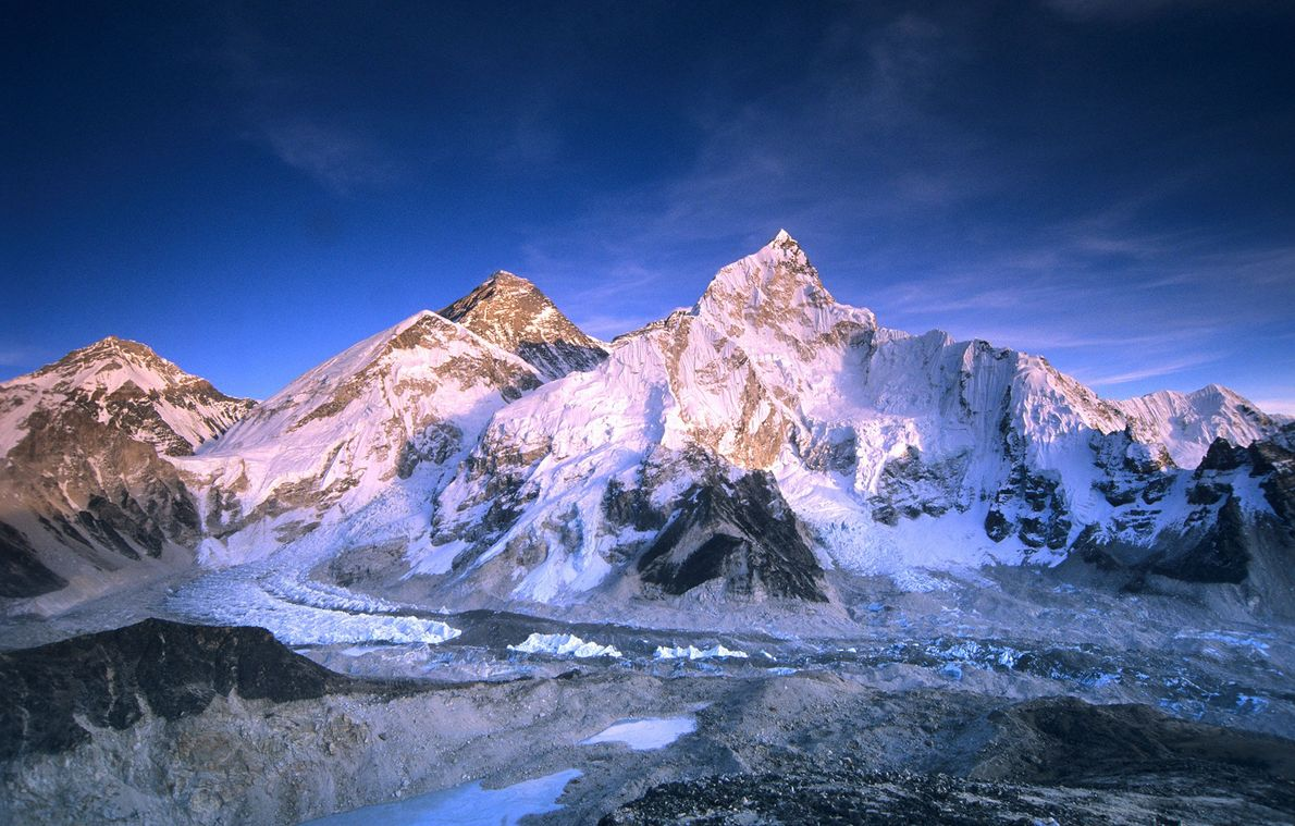 Polish climbers Leszek Cichy and Krzysztof Wielicki reached the top of Everest on February 17, 1980. ...