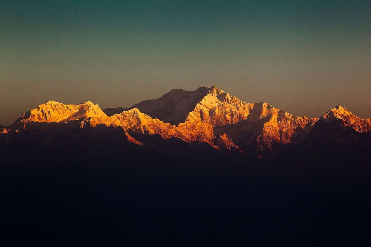 The third highest mountain on Earth was first climbed in winter on January 11, 1986, by ...