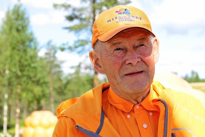 Taisto Illikainen is known locally as the cloudberry'cloudberry professor' and can be sought out at Ranua's ...