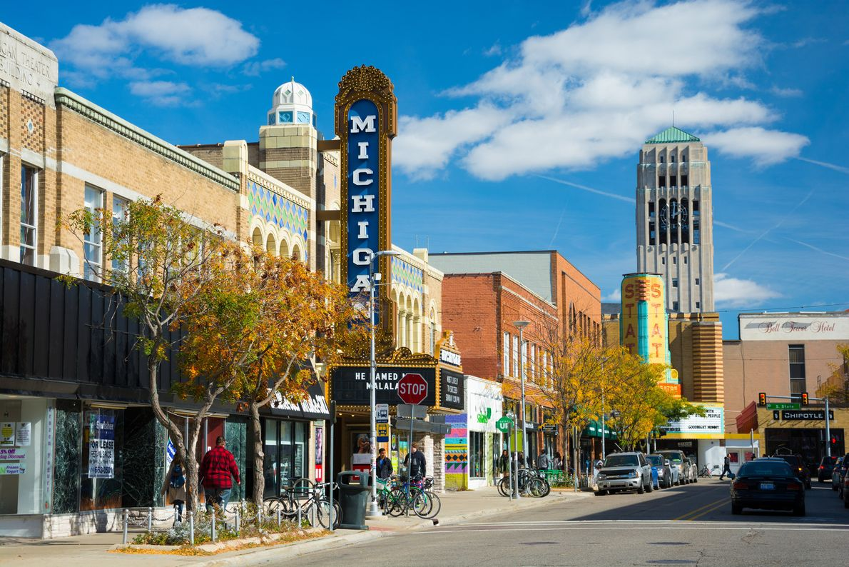 It may go without saying that a bustling college town like Ann Arbor would be full ...