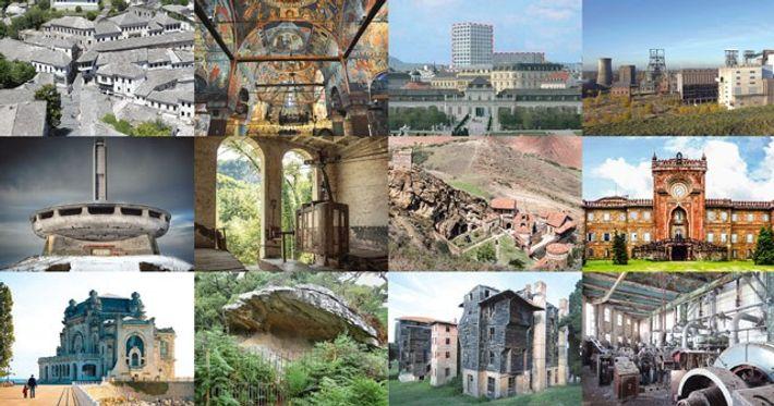Europe heritage landmarks