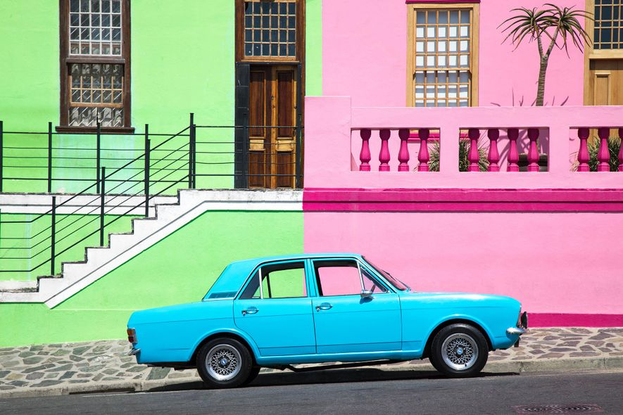 The colourful streets of Bo Kaap weren't always this way. The facades were once mandated to ...