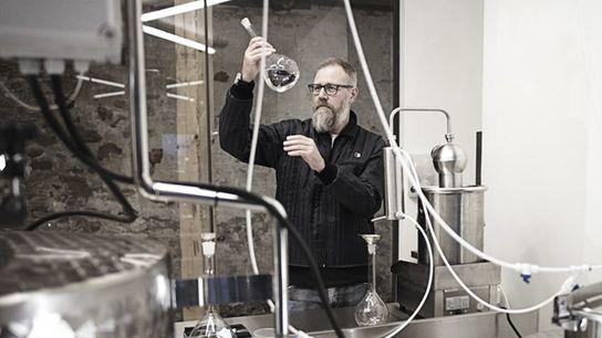 Gin distiller Henrik Brinks