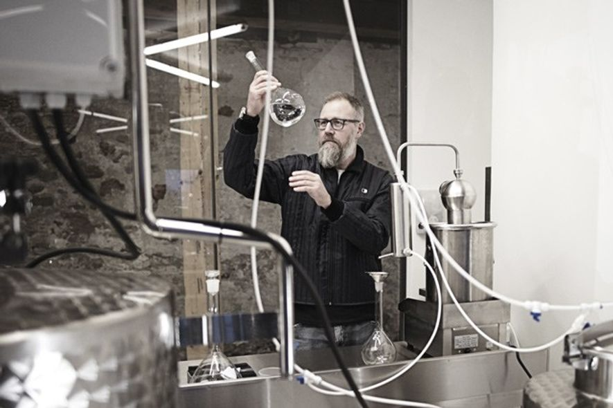 Gin distiller Henrik Brinks