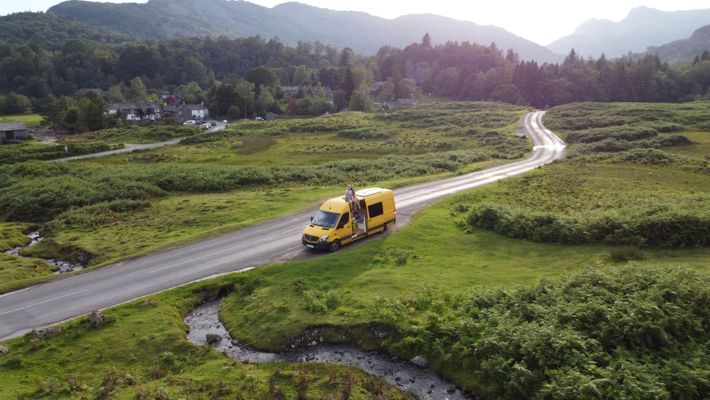 The Van Conversion Bible authorshave swapped life in the UK for France, where they're currently seeking ...