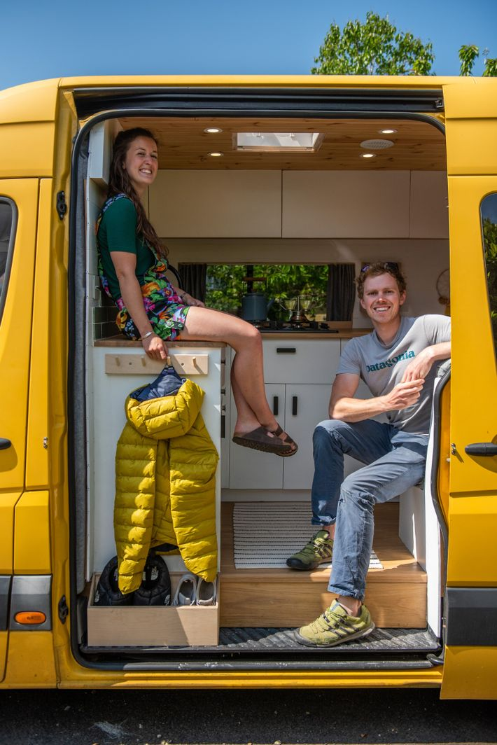 """""""Planning is everything,"""" says Dale Comley, who's co-authoredThe Van Conversion Bible with his partner, Charlie Low.The ..."""