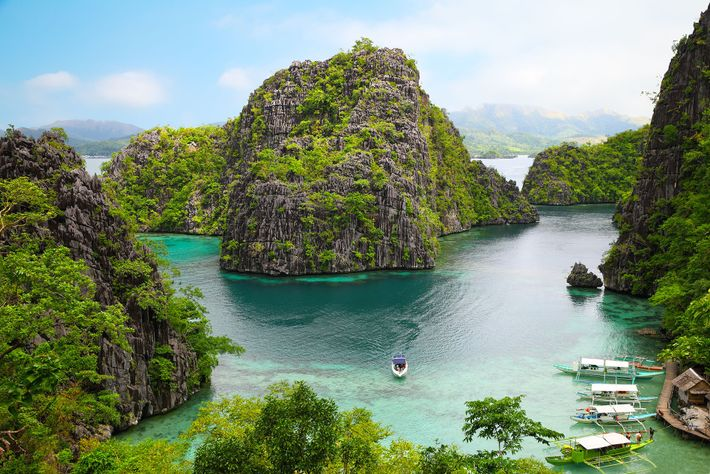 Once a harbour for Japanese ships in the Second World War, Coron's deep waters are now ...