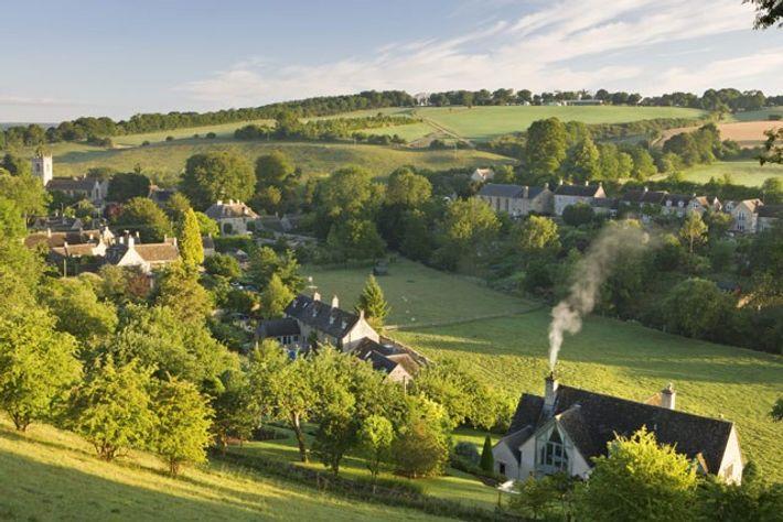 Village of Naunton. Image: Getty