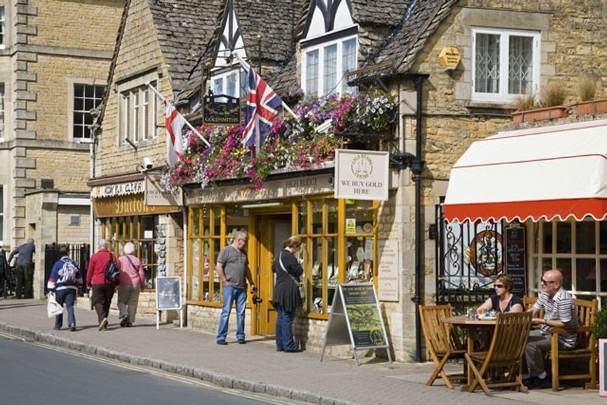 Bourton-on-the-Water. Image: SuperStock