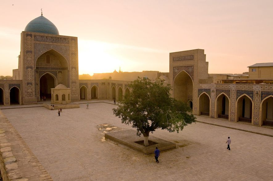 Poi Kalan mosque in Bukhara, Uzbekistan