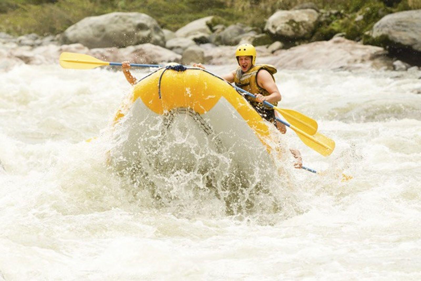 Rafting: Staying afloat in Ecuador