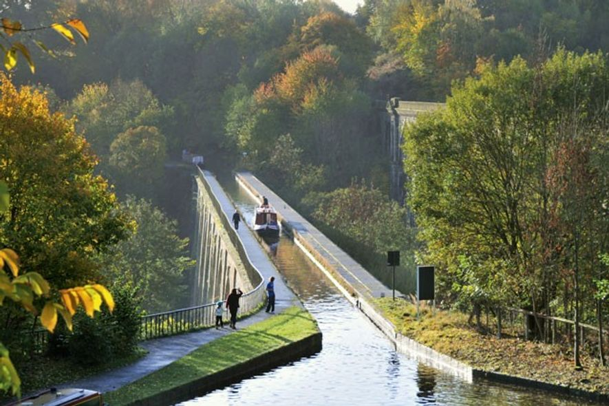 Chirk Aqueduct, Llangollen Canal.