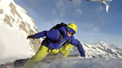 Heli-skiing: Blades of glory