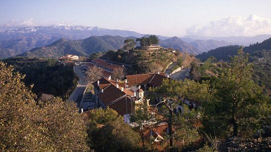 Kykkos Monastery, Troodos Mountains