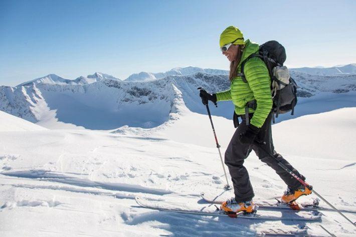 Telemark skiing. Image: Alamy