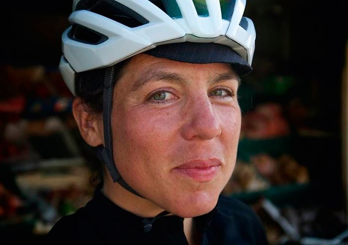 Athlete, author and former cycle courier Emily Chappell is the author of Where There's A Will.