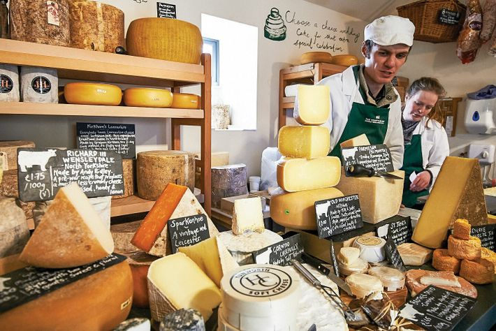 Andy Swinscoe is a cheesemonger and co-owner of The Courtyard Dairy in Yorkshire.