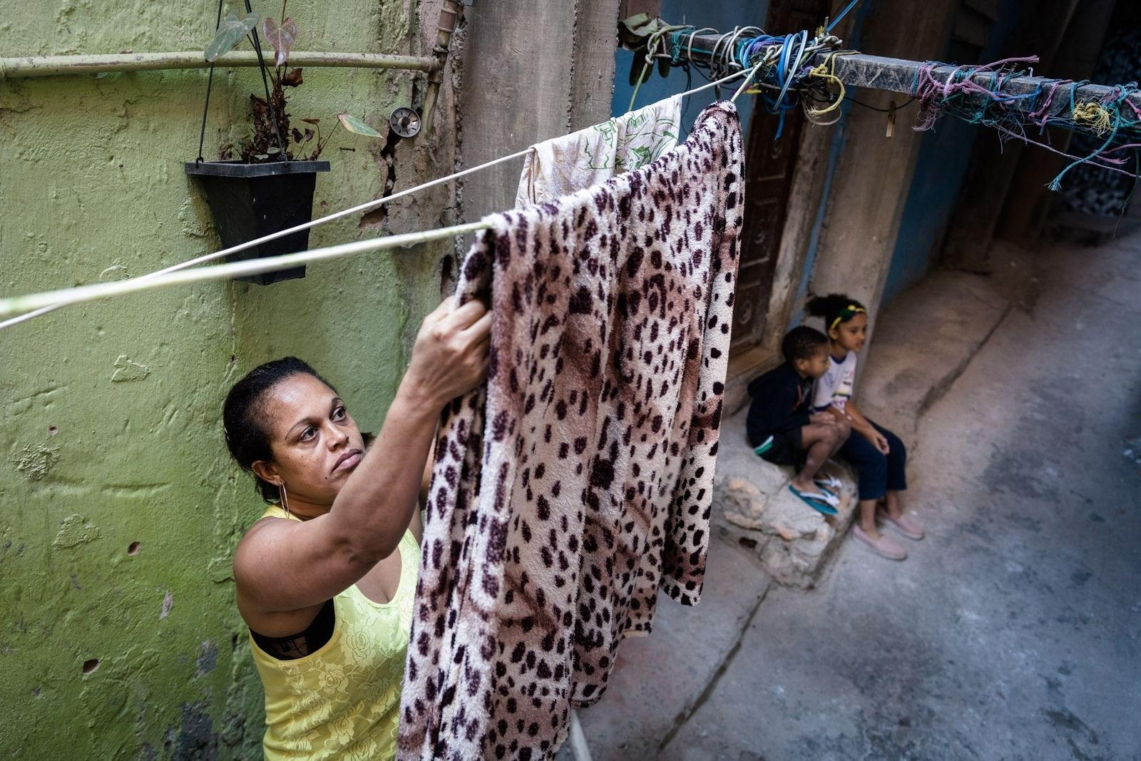 The reasons why Brazil's vulnerable domestic workers cannot afford to get sick.