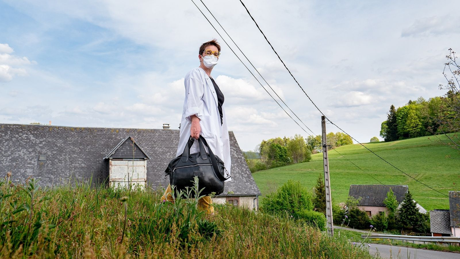 Dr. Dominique Sphilmann, a doctor in the remote mountainous region of Haute-Alsace, France, is the first ...