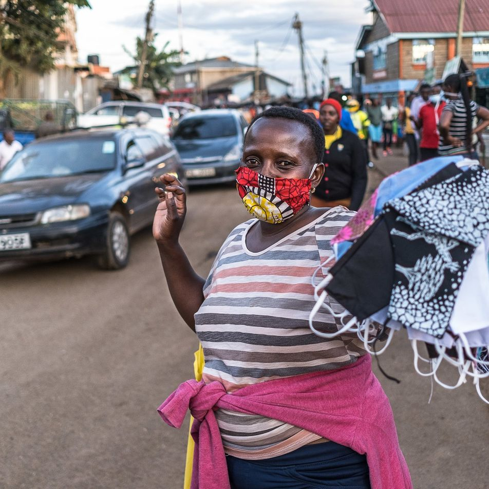 In this sprawling city within a city, fighting coronavirus requires solidarity