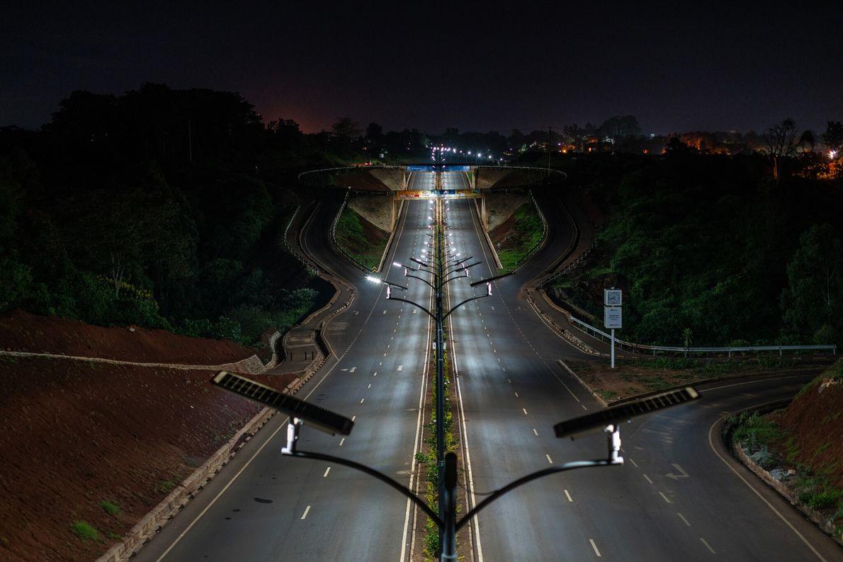In April, after President Uhuru Kenyatta ordered a dawn-to-dusk curfew in Kenya, the country's highways were ...