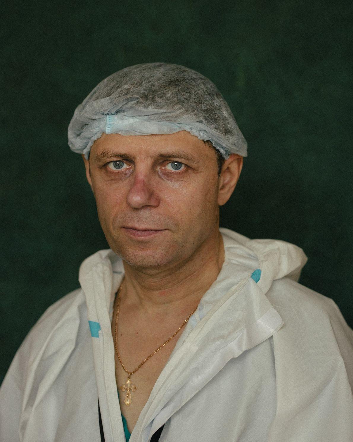 Pavel Azarov, Audiology Department head.