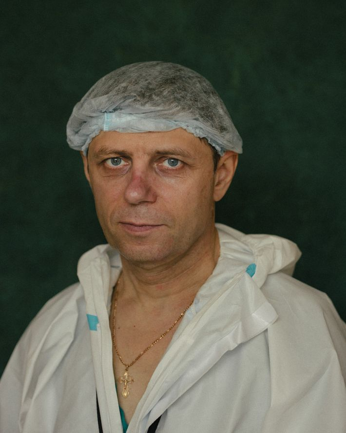 Pavel Azarov, Audiology Department head.